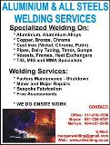 Aluminium & All Steels Welding Services cc Springs