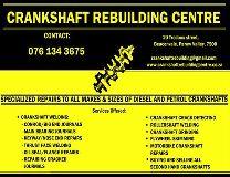 Crankshaft Rebuilding Centre Cape Town
