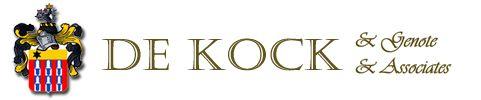 DE KOCK & ASSOCIATES INC. ATTORNEYS Cape Town