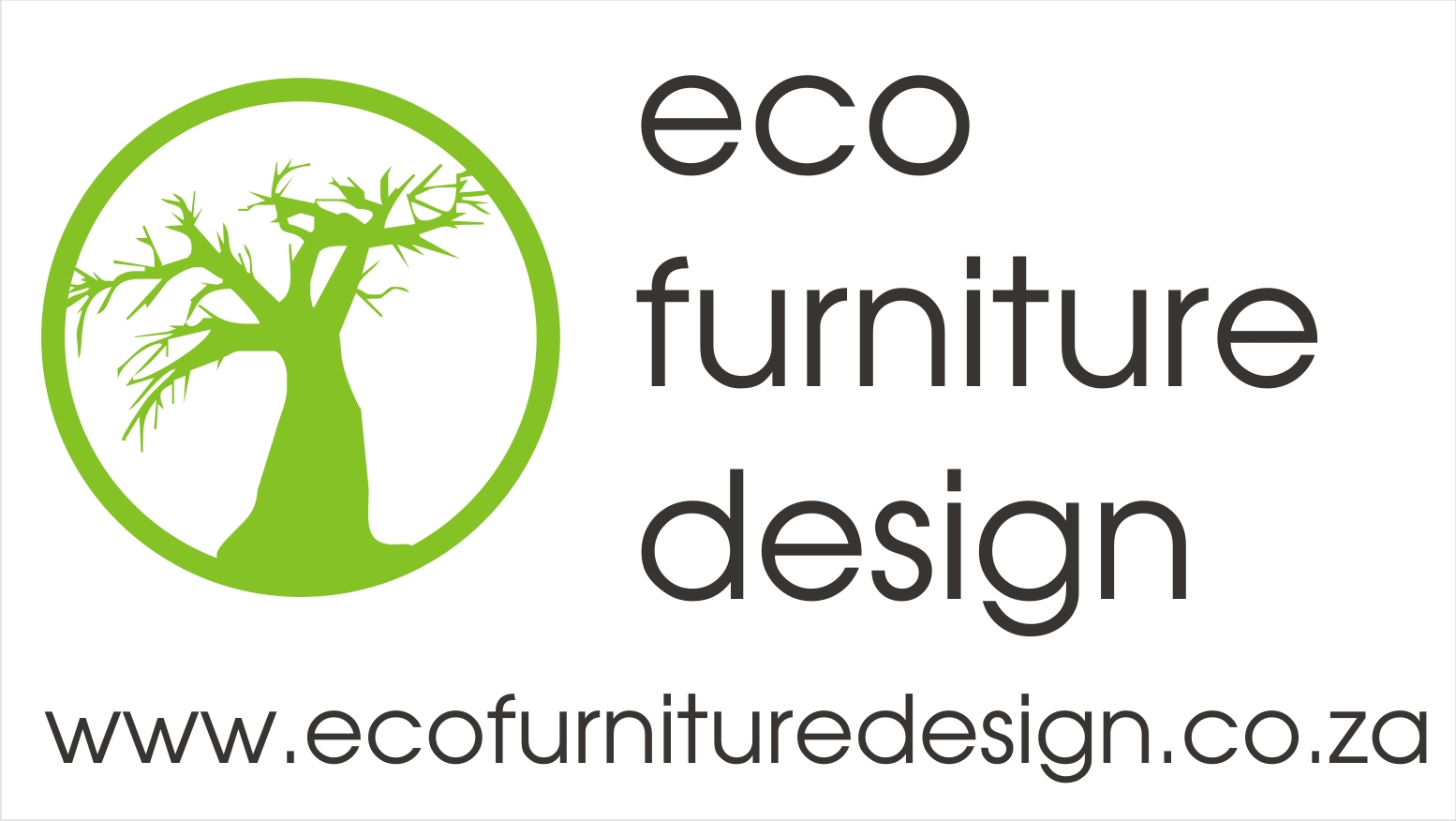 Company logo Eco furniture design -  manufacturer supplier and store South Africa