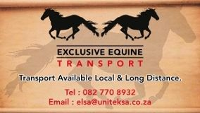 Exclusive Equine Transport Pinetown